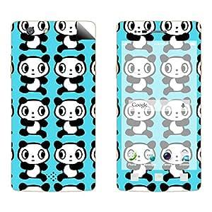 Skintice Designer Vinyl Skin Sticker for OPPO Neo 7, Design - bear illustration
