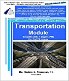 Transportation Module Breadth (AM) + Depth (PM) for Civil PE License