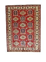 L'Eden del Tappeto Alfombra Kazak Super Rojo / Multicolor 213 x 289 cm