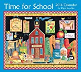 img - for Time for School 2014 Deluxe Wall Calendar book / textbook / text book