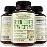 Weight Loss Supplement Green Coffee Bean Extract 100% All Natural, Non-gmo, Gluten Free. Most Effective Appetite Suppressant, Metabolism Booster, Fat Burner & Carb Blocker - Diet Pills That Work Fast for Women and Men - Premium Ultra Pure Brand - High Grade Slim Formula to Increase Energy, Lose Reduce and Burn Fat - Best Extreme Strength Belly Buster Blend - Super Fast Acting Trim Reducer with Max Benefits - 800mg Per Pill, 1600mg Per Day At 50% Chlorogenic Acid As Recommended By the Experts. 60 Vegetarian Capsules. Third Party Tested. Made in the USA
