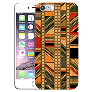 Digione Real Bamboo Wood show stop Series Designer Back Cover For Apple iPhone 6 6s BK-304