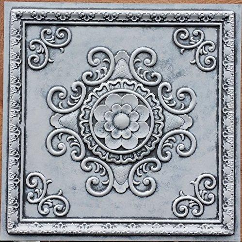 PL08Finition imitation Vieux plafond Panneaux muraux décoration carrelage 3D pour estamper Café Pub Shop Art 10pieces/Lot