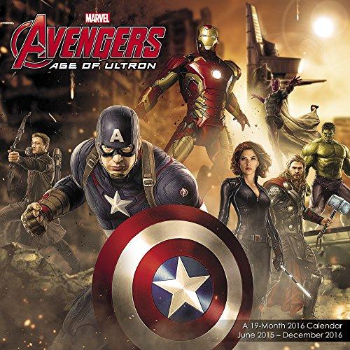 Avengers: Age of Ultron Wall Calendar 19 Month (2016)