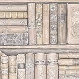 Bookcase Wallpaper Pattern #9x9xgshpl