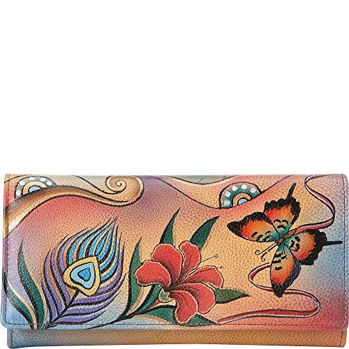 anuschka-handpainted-leather-1701-sfs-checkbook-wallet-clutch-sunflower-safari-one-size