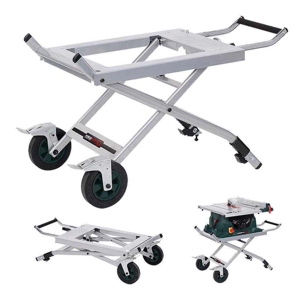 Untergestell für Tischkreissäge, klappbar und rollbar  Art. POWXQ53600T  BaumarktKritiken und weitere Informationen