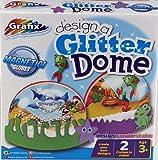 Grafix Make Your Own Snow Globe Glitter Dome Creative Toy Box Set