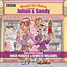 Round the Horne: The Complete Julian & Sandy: Classic BBC Radio Comedy Radio/TV Program Auteur(s) : Barry Took, Marty Feldman Narrateur(s) : Hugh Paddick, Johnnie Mortimer, Kenneth Horne, Kenneth Williams