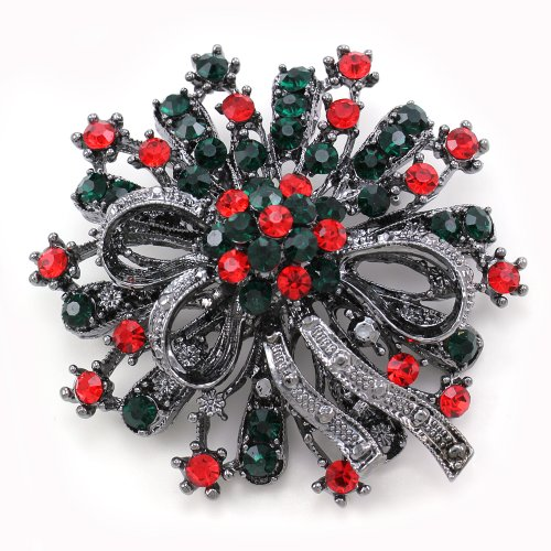 Antique Vintage Design Christmas Wreath Flower