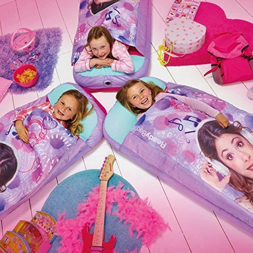Worlds Apart 865215 Moderne Lit d'Appoint Violetta Textile 150 x 62 x 20 cm