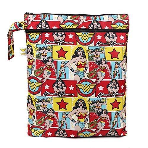 Bumkins DC Comics Wet Dry Bag, Wonder Woman Comic (Bumkins Wet compare prices)