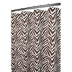Park B. Smith Zebra Zebra Shower Curtain