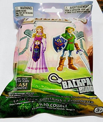Legend of Zelda porte-clés sac à dos Mystery Bag - 1 modèle aléatoire vendu à l'unité