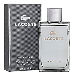 Lacoste Pour Homme Men 100 Ml With Ayur Lotion FREE