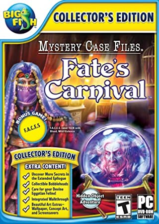 Big Fish: Mystery Case Files 10: Fate's carnival with Bonus - PC/Mac