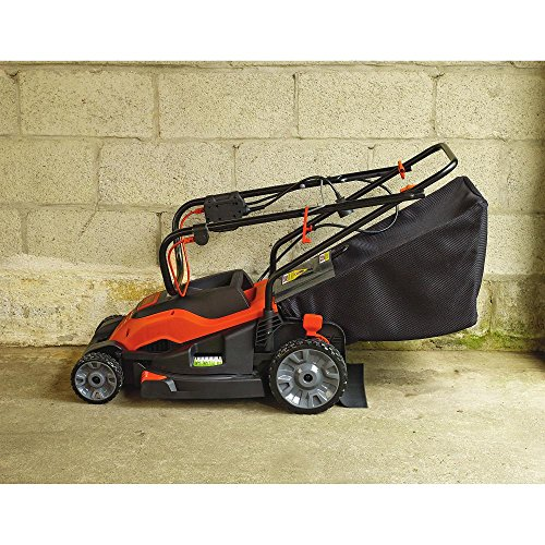 Black Amp Decker Corded Mower 15 Inch Top Rated Riding