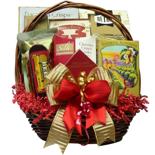 Art of Appreciation Gift Baskets Happy Times Gourmet Food Basket (Gift Baskets Prime Shipping compare prices)