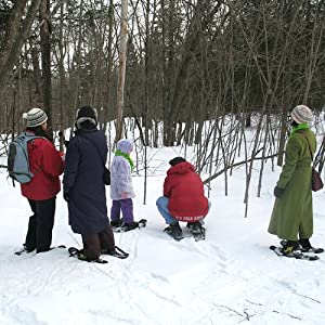 Gatineau Park, Quebec Canada: Audio Journeys Exploring Winter in Quebec on Snowshoes | [Patricia L Lawrence]