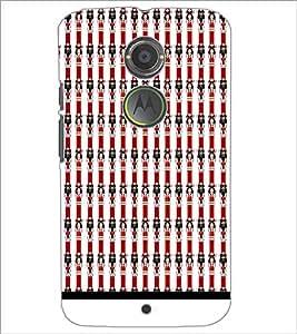 PrintDhaba Pattern D-1561 Back Case Cover for MOTOROLA MOTO X2 (Multi-Coloured)