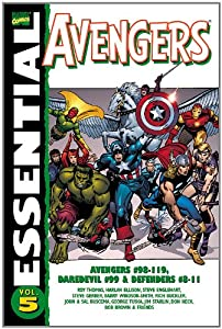 Essential Avengers, Vol. 5 (Marvel Essentials) by Roy Thomas, Harlan Ellison, Chris Claremont and Steve Englehart