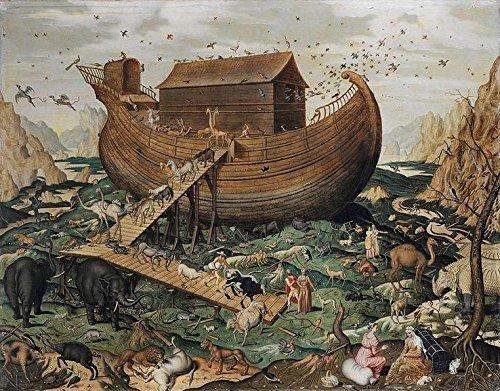 Artifact Puzzles - de Myle Noah's Ark Wooden Jigsaw Puzzle