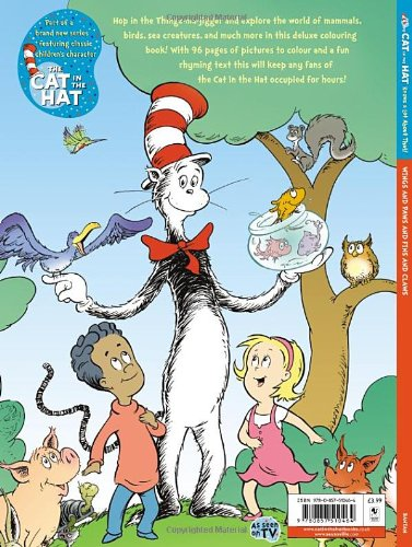 The Cat in Hat Knows a Lot About That!: Wings and Paws and Fins and Claws (The Cat in the Hat)