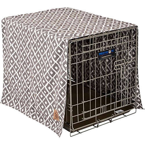 Precision Pet SnooZZy IKAT Crate Cover  Gray (Midwest Crate Cover compare prices)