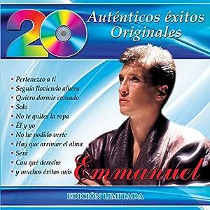 EMMANUEL - EMMANUEL 20 AUTENTICOS EXITOS ORIGINALES ...