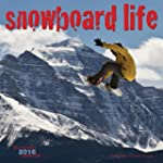 Snowboard Life 2016 Square 12x12 Wall...