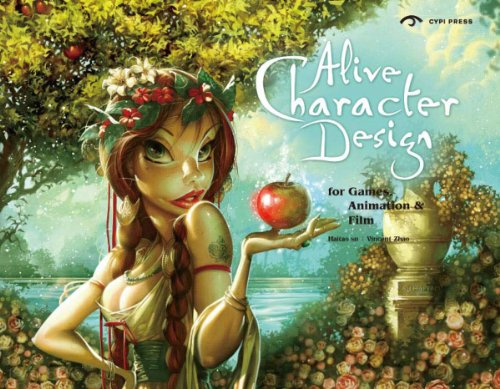 Game Character Design Books : Book review alive character design for game animation