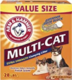 Arm & Hammer Multi-Cat Litter, 28 Lbs