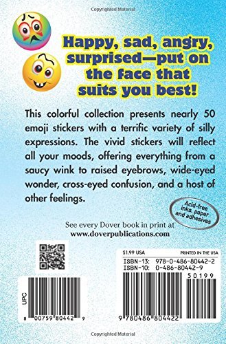Emoji-Stickers-Dover-Little-Activity-Books-Stickers