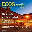 ECOS audio - Visita a una ciudad. 1/2014: Spanisch lernen Audio - Wortschatz für die Städtereise Hörbuch von  div. Gesprochen von:  div.