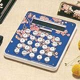 電卓 しだれ桜(A) 輸入加工品