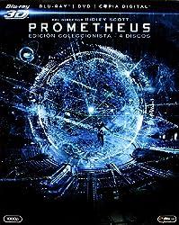 Prometheus (Blu-ray 3D + Blu-ray + DVD + Copia Digital) [Blu-ray]