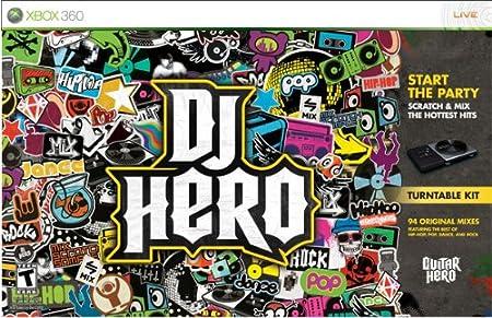 Xbox 360 DJ Hero Bundle with Turntable