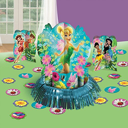 Amscan Tinker Bell Best Friends Fairies Table Decorating Kit, Multicolor - 1