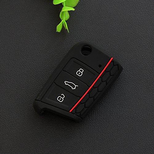 fashion-silicone-remote-flip-key-fob-silicone-case-cover-fit-vw-volkswagen-golf-7-gti-golf-vii-mk7-s