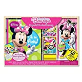 Bendon Minnie Mouse Magnetic Dress-Up and Storybook Set (50-Piece)