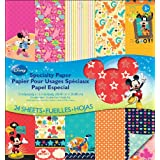 EK Success Disney Specialty Paper Pad, Mickey Family
