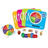 Learning Resources Healthy Helpings A Myplate Game (Color: Multi, Tamaño: 10 x 10 in)