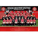 Manchester United FC Official Football Gift Squad Poster - A Great Christmas / Birthday Gift Idea For Men And Boys