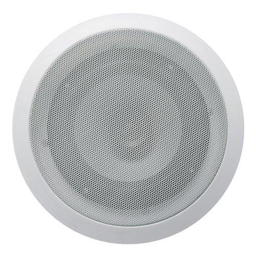 Acoustic Audio Cs-Ic62 6.5-Inch Round 2 Way Speaker (White)