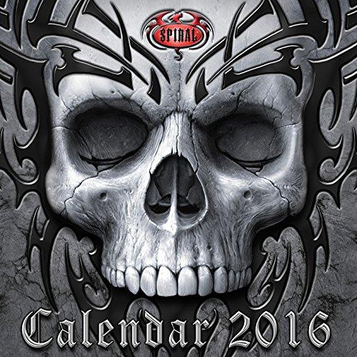 Spiral Gothic 2016 Square Calendar