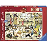 Crazy Cats In The Craft Room Puzzle (1000-Pieces)