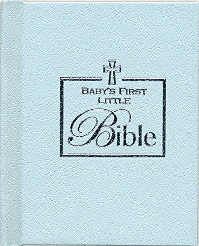 Brownlow Kitchen Baby Boy First Bible, Blue - 1