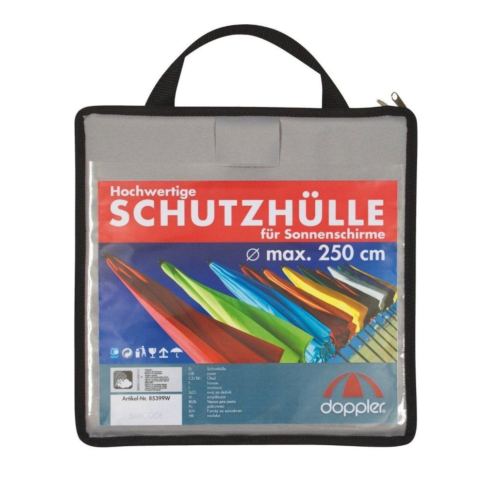 Doppler Schirmhülle ACT Farbe hellgrau, aus hochwertigem Polyester, mit Tragetasche günstig online kaufen