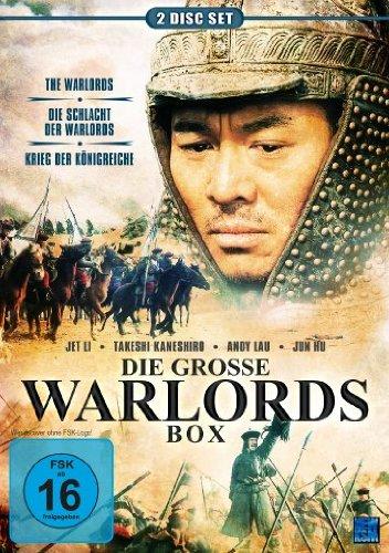 Die grosse Warlords Box (Krieg der Königreiche / Die Schlacht der Warlords / The Warlords) [2 DVDs] [Collector's Edition]
