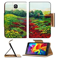 buy Samsung Galaxy Tab 4 7.0 Inch Flip Pu Leather Wallet Case Nice Original Landscape Painting In Oil On Canvas Image 10977109 By Msd Customized Premium